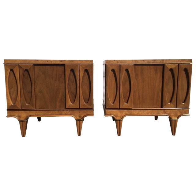 American Martinsville Mid-Century Side Tables Pair - Image 1 of 11
