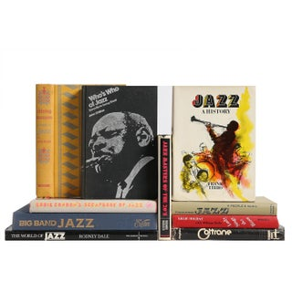 Vintage History of Jazz Music Books - Set of 10