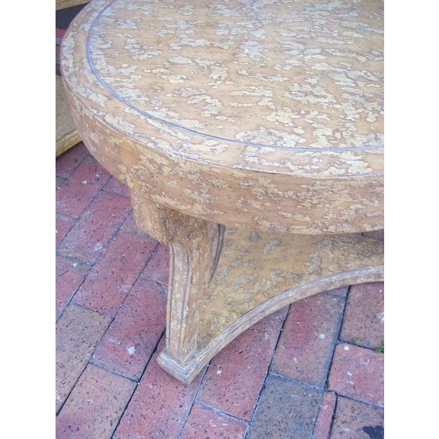 Pair of Round Gueridon Side Tables - Image 3 of 7