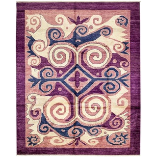 "New Contemporary Hand Knotted Area Rug - 9'2"" x 11'10"""
