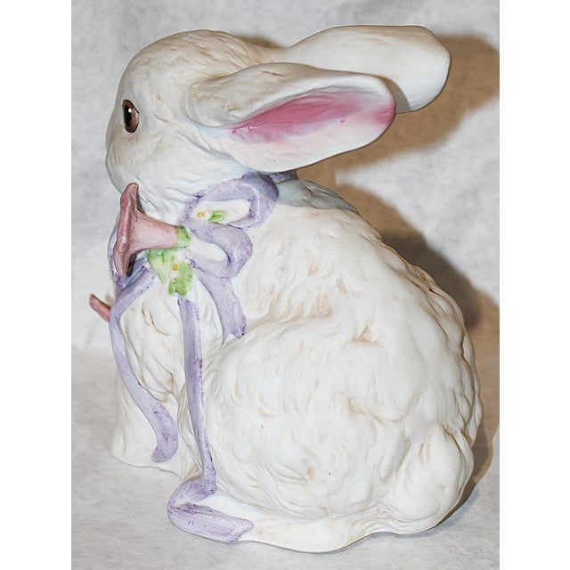 Image of Enesco Bunny Rabbit Music Box