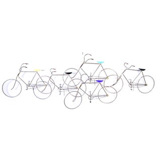 Curtis Jere Metal Bike Sculpture