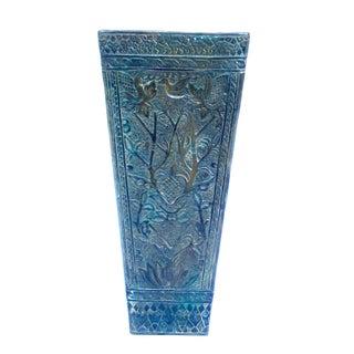 Bronze Floral Vase