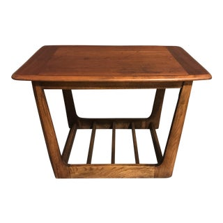 Danish Solid Wood End Table