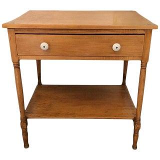Vintage Farmhouse Side Table or Mini Dresser