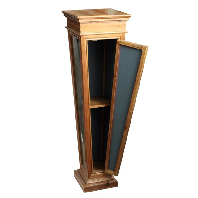 Wooden Mirrored Storage Pedestal - Image 4 of 8