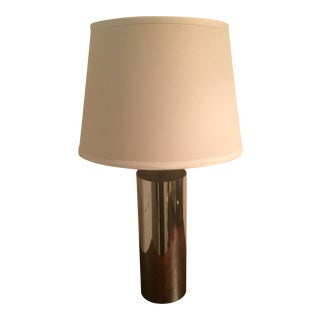 Robert Sonneman for George Kovacs Mid-Century Cylinder Lamp