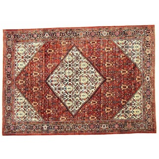 Antique Persian Sultanabad Rug - 9'4'' X 12'6''