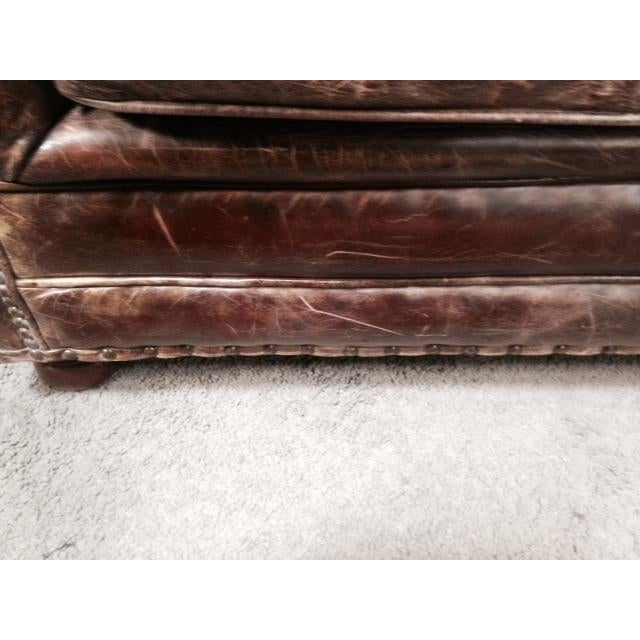 Leather Club Chairs - Pair - Image 7 of 11