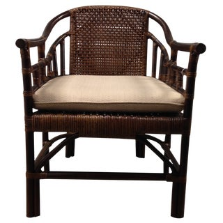 Rattan Accent Chair