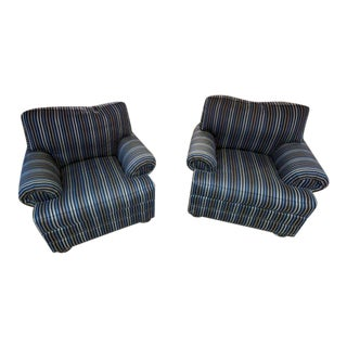 Thomasville Ashby Lounge Chairs - A Pair