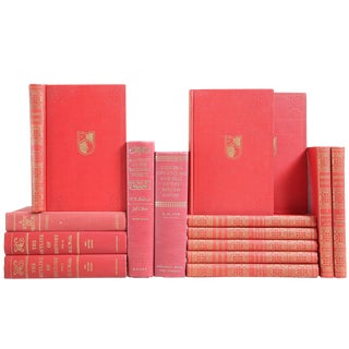 Red & Gold History of the World - Set of 15