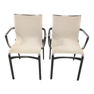 Alberto Meda Stackable Armchairs - A Pair