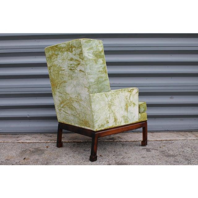 jack lenor larsen mid century modern tie dye upholstered. Black Bedroom Furniture Sets. Home Design Ideas
