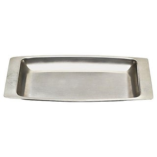 1960s Vintage Stainless Rectangular Server