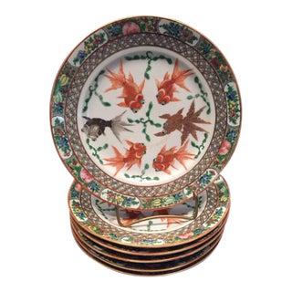 Chinese Fish Plates - Set of 6