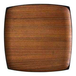 Mid-Century Wooden Platter