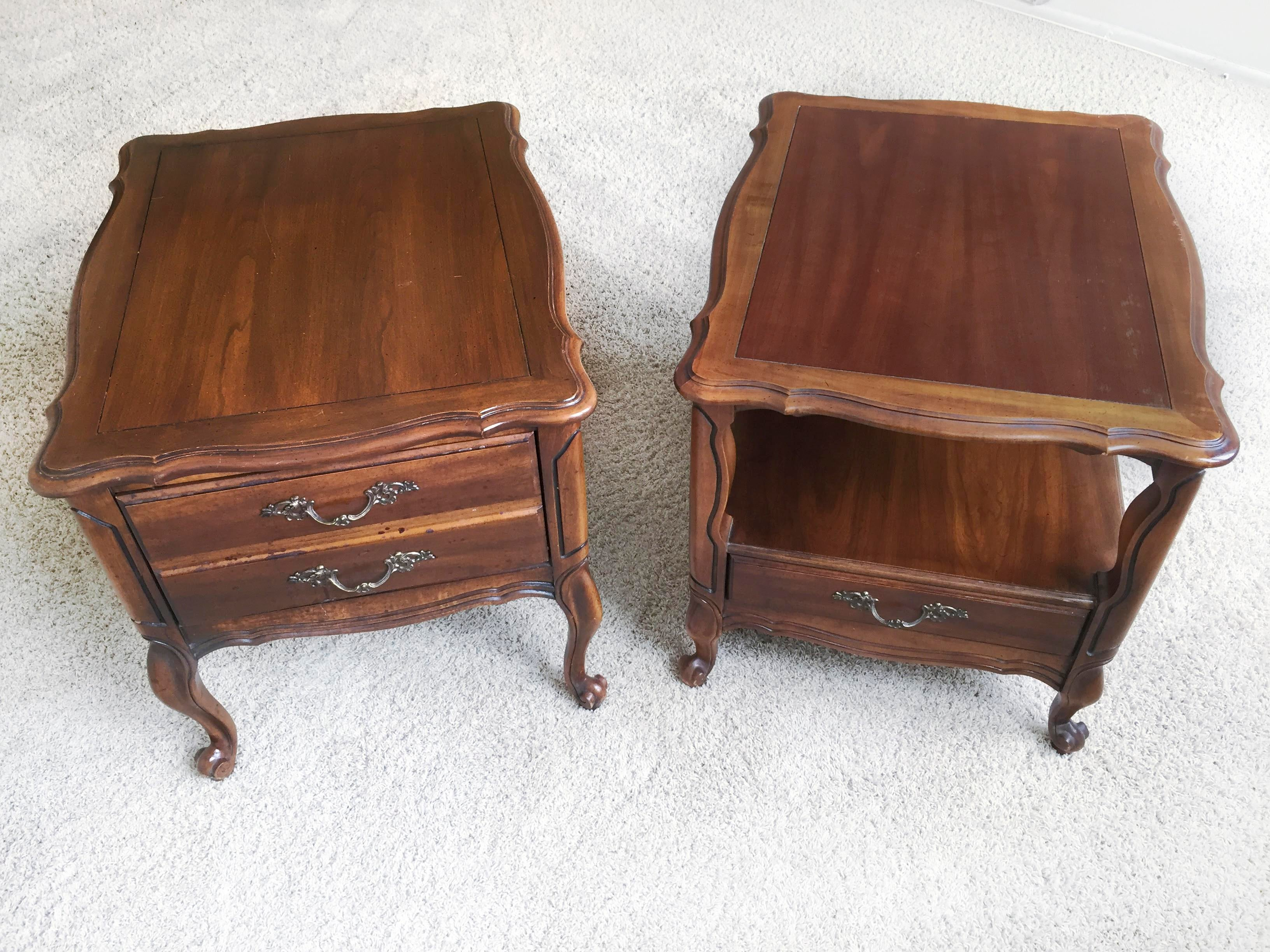 Vintage Hammary End Tables  Set Of 2   Image 3 Of 5