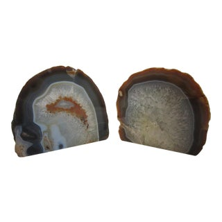 Geode Bookends - A Pair