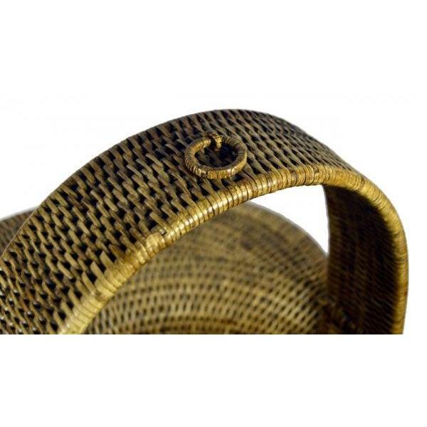 Burmese Hand Woven Hat Basket - Image 4 of 10