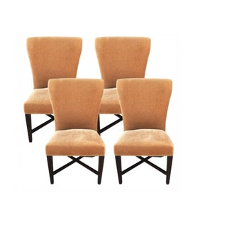 Ironies Velvet Dining Chairs - Set of 4
