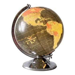 Mid-Century Replogle Illuminated Globe
