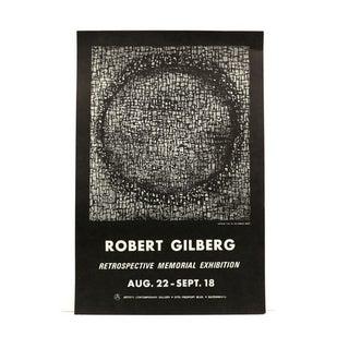 1970s Modern Art Print by Robert Gilberg