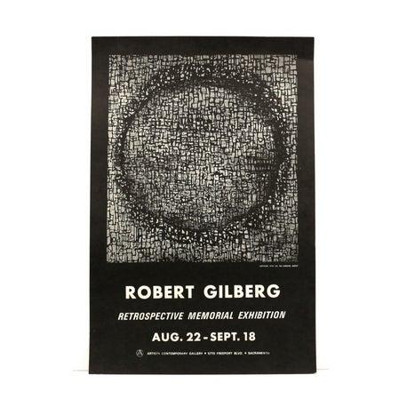 Image of 1970s Modern Art Print by Robert Gilberg