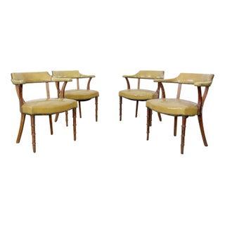 Mid-Century Barnard & Simonds Captains Chairs