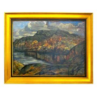 Wessberg Swedish Coastline Oil Painting