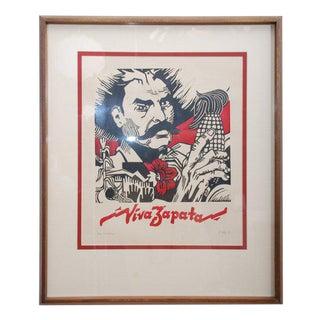 Viva Zapata Xilografia