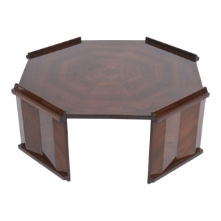 Fine Rosewood Late Art Deco Low Table, France