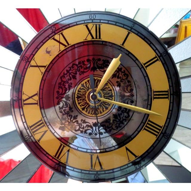 Mid-Century Zodiac Wall Clock - Image 4 of 10