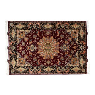 Leon Banilivi Persian Tabriz Carpet - 5′3″ × 7′8″