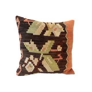 Old Tribal Turkish Kilim Pillow