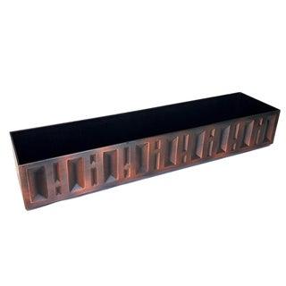 Mid-Century Copper Window Box Planter
