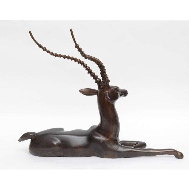 Image of Bronze Springbok Figurine