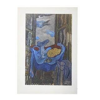 Vintage Surrealist Braque Lithograph