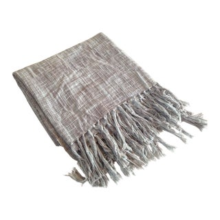 Iron Ore Textured Throw