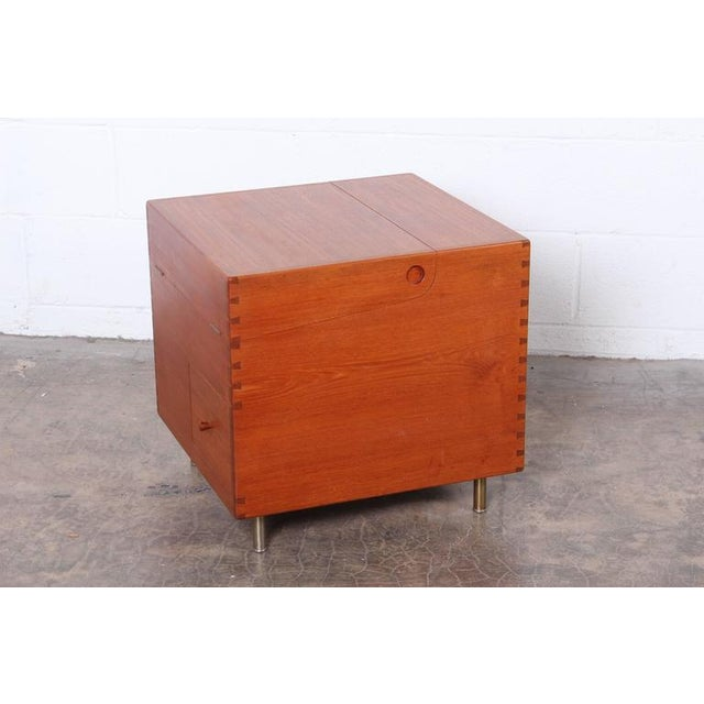 Hans Wegner Teak Cube Bar - Image 6 of 10