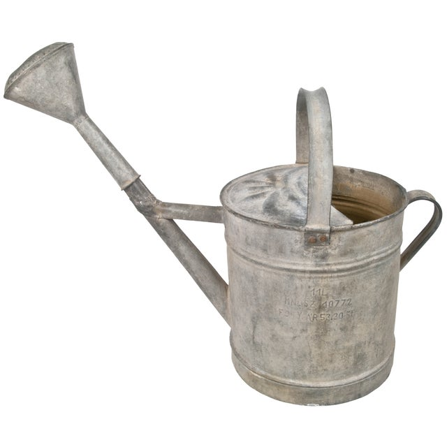 French Zinc Watering Can - Image 1 of 4