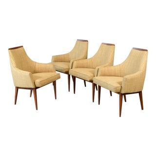 Kipp Stewart for Calvin Dining Chairs - Set of 4