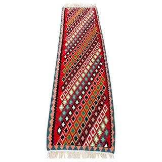 Vintage Persian Kilim Rug - 3' x 10'
