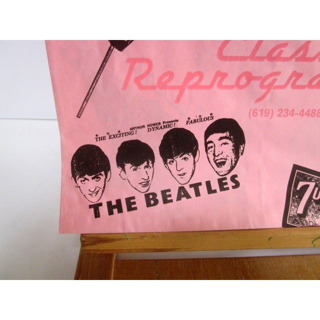 Vintage Pink Graphic Paper Bags - Set of 10 - Image 4 of 6