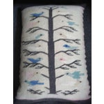 Image of Mexican Indian Tree of Life Bolster Pillow