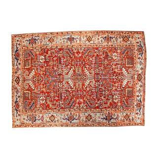 """Vintage Heriz Carpet - 6'11"""" X 9'7"""""""