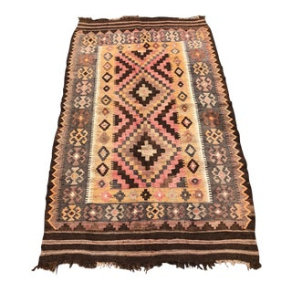 "Vintage Turkish Kilim - 40"" x 70"""