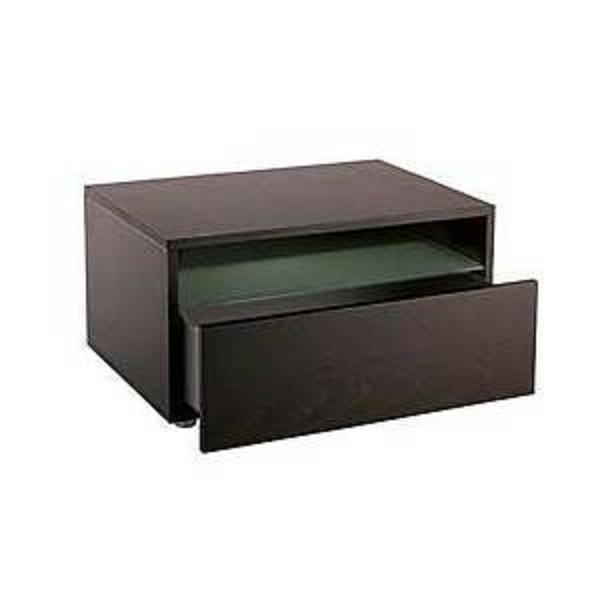 Leggero Wenge Night Stands - A Pair - Image 1 of 2