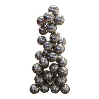 Vintage Ball Sculpture