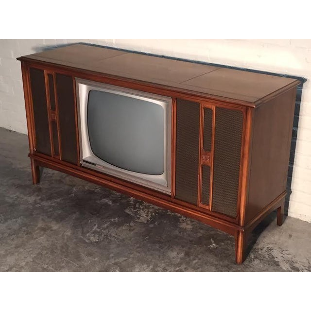 Mid-Century Television Stereo Console - Image 10 of 10